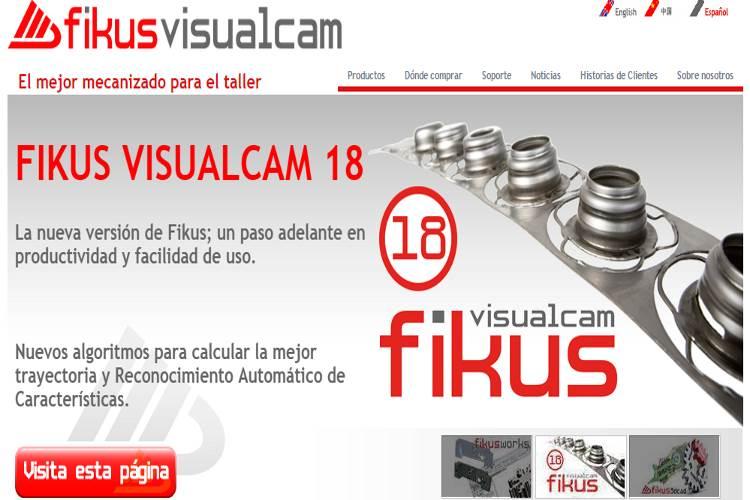 Fikus visual CAM, notre logiciel